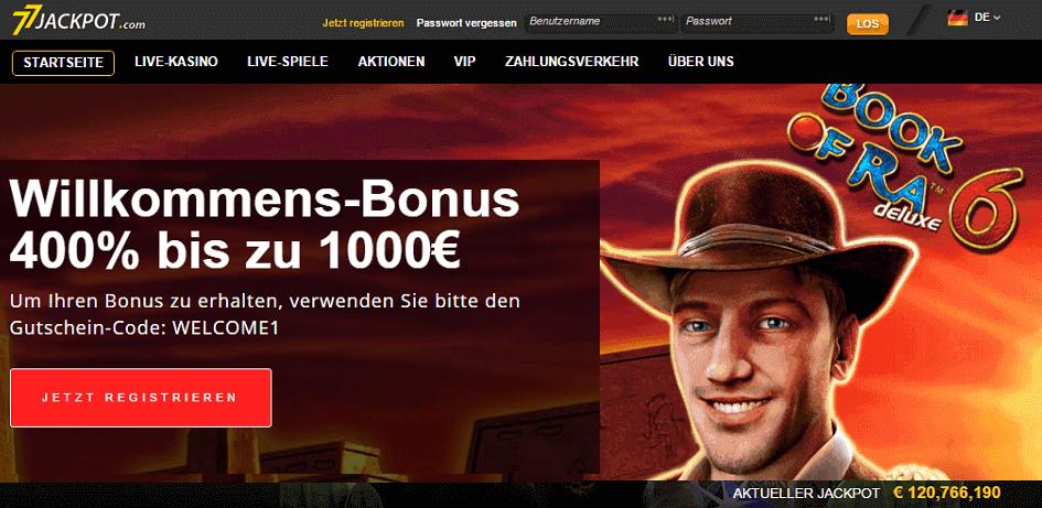 online casino jackpot alle  spiele