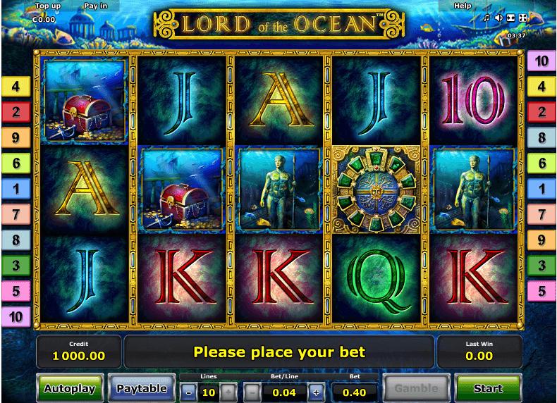 Kostenlos casino spiele spielen lord of the ocean