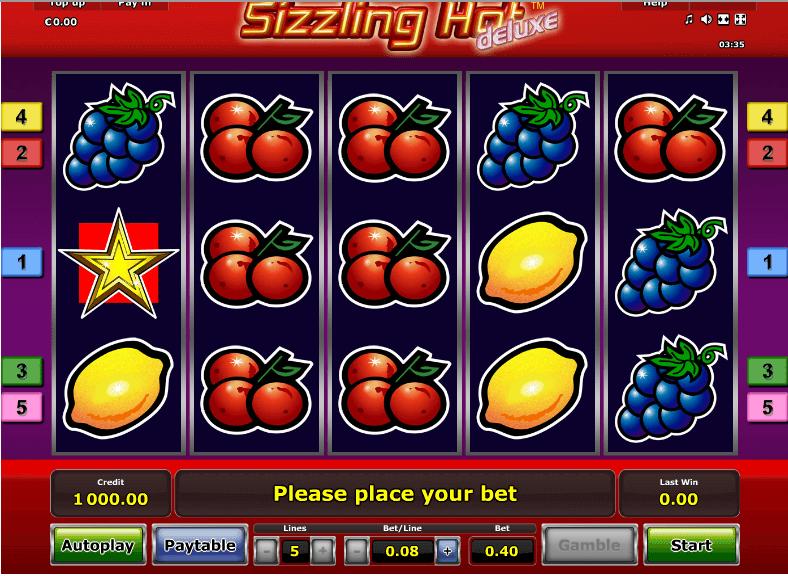 Casino Kostenlos Spielen Sizzling Hot