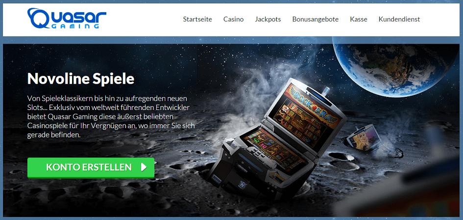 online casino anbieter quasar casino