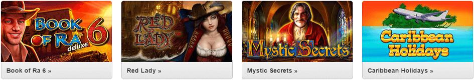 Quasar Gaming Novoline Spiele