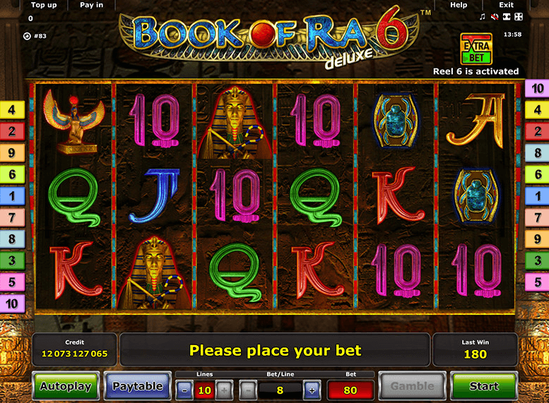 www casino online book of ra gewinne