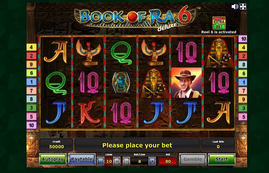 casino online slot 5 bücher book of ra