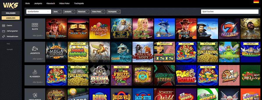 Viks Casino / Novoline-Merkur und mehr