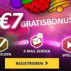 LVbet - 7 Euro gratis Bonus
