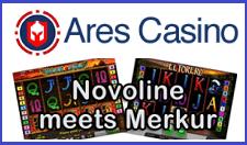 Ares Casino Novoline Merkur 400% Bonus