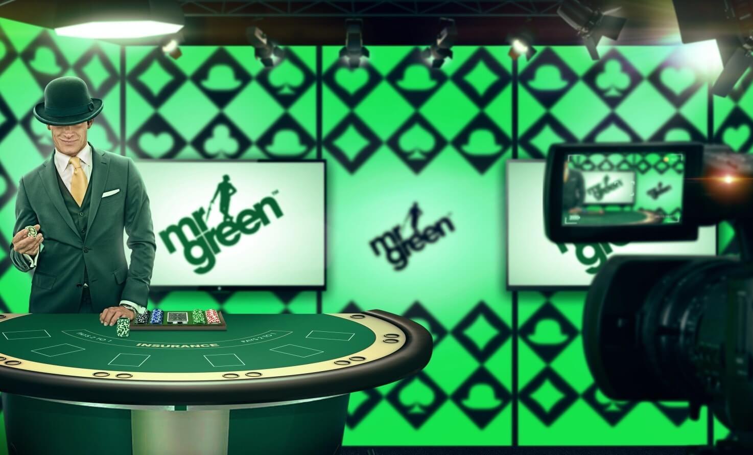 Mr Green Casino mit Merkur