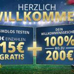 Sunmaker 1 Euro einzahlen mit 15 Euro spielen