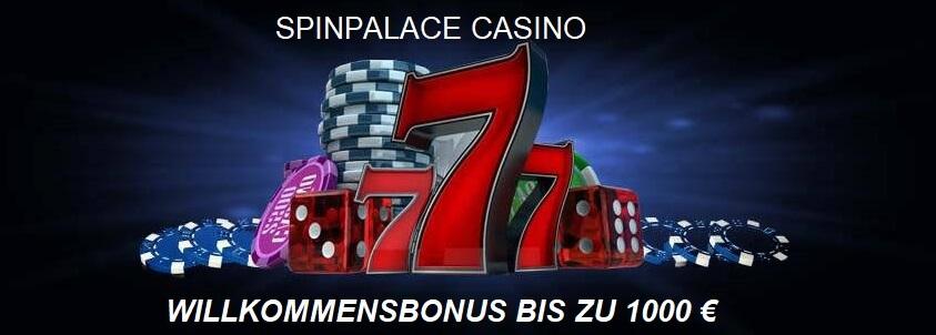 Spiele im SpinPalace Casino