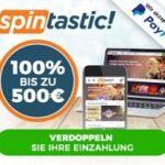Spintastic-Freispiele-Bonus