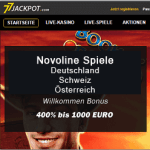77 Jackpot die Novoline Alternative