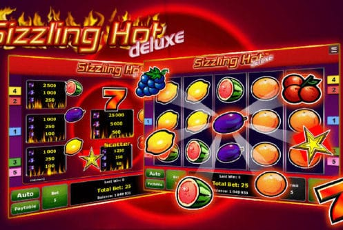 Sizzling Hot Deluxe 5 Linien