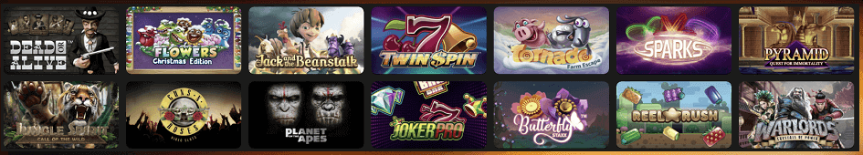 Casino NetEnt Spiele