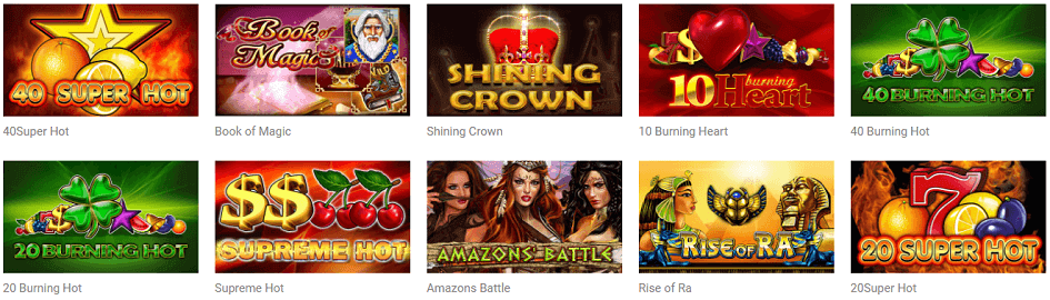Quasar Casino EGT Spiele