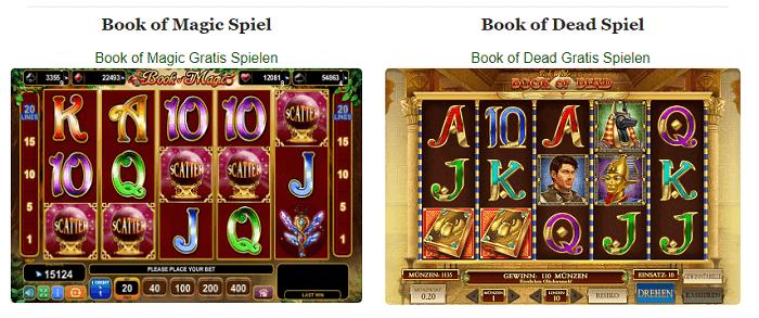 Book of Magic via Book of Dead