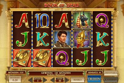 book of dead neue casinos