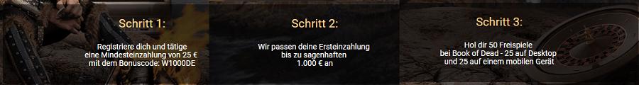 Viks Casino Bonus Angebot