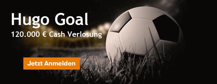 Inter Casino Hugo Goal Cash Verlosung