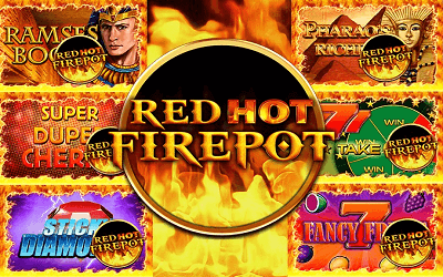 Red Hot Firepot Jackpot Spiele