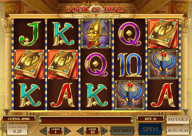 Book of Dead im Twin Casino