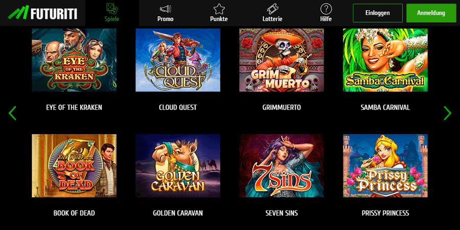 Futuriti Casino Play´n Go