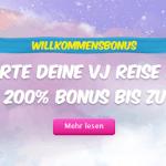 Verajohn Willkommen Bonus