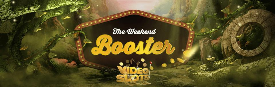 Videoslots 200 Eruos gratis + Weekend Booster