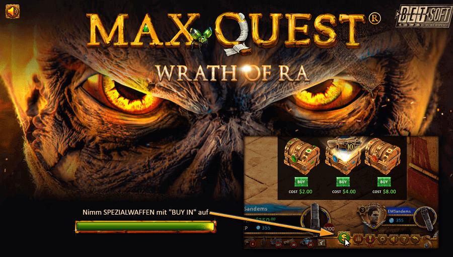 Max Quest Wrath of Ra kostenlos spielen