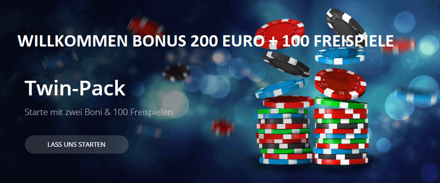 Twin Glücksspiel Bonusangebot