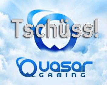 quasar gaming schließt