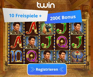 Book of Dead Freispiele im Twin Casino