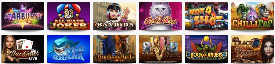 Casinospiele im Omni Slots