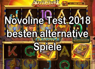 Novoline Test 2018 beste Alternative Spiele
