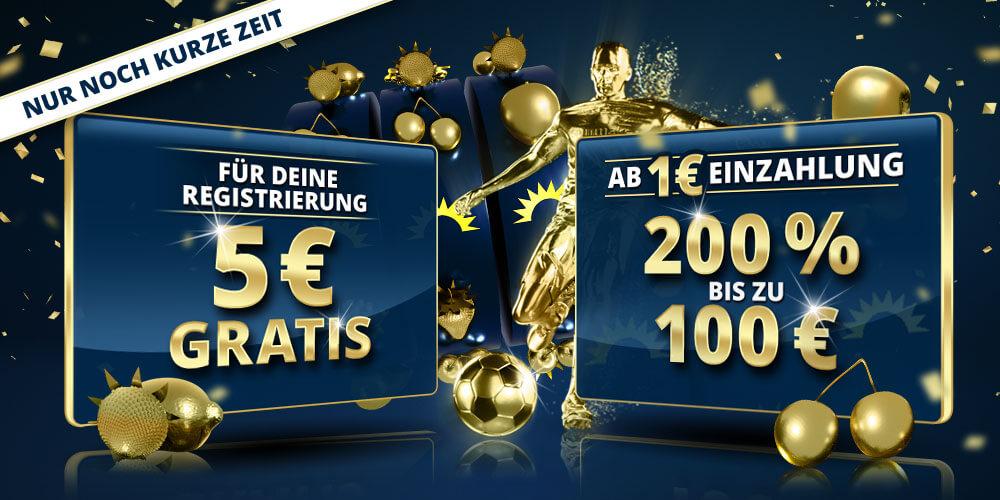 Sunmaker 5 Euro gratis