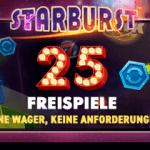 25 Freispiele ohne Umsatz