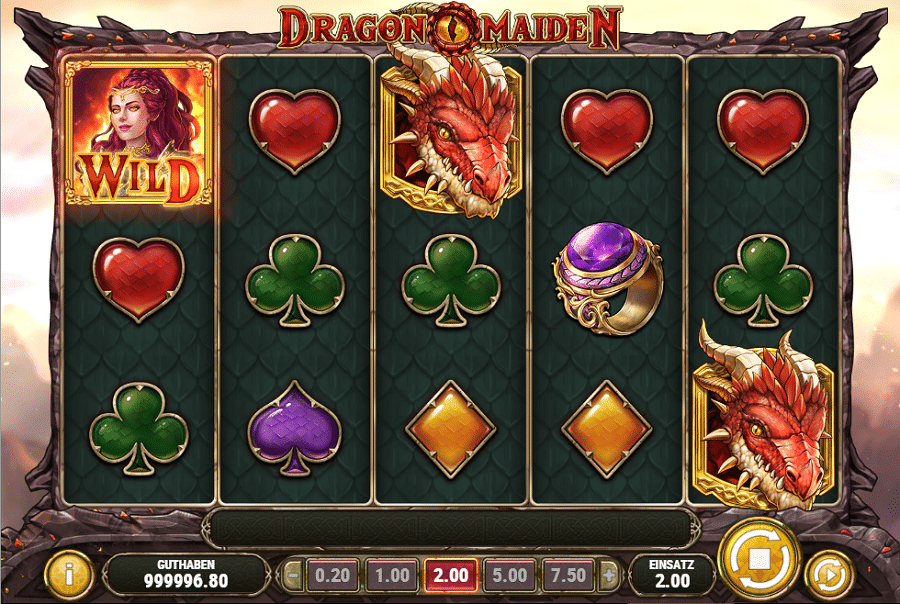 Dragon Maiden Play'n Go kostenlos spielen