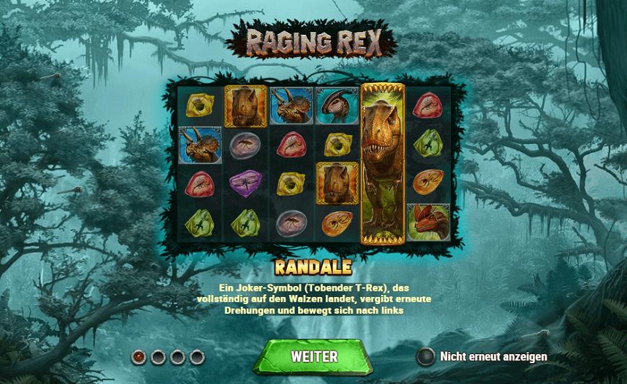 Raging Rex kostenlos spielen