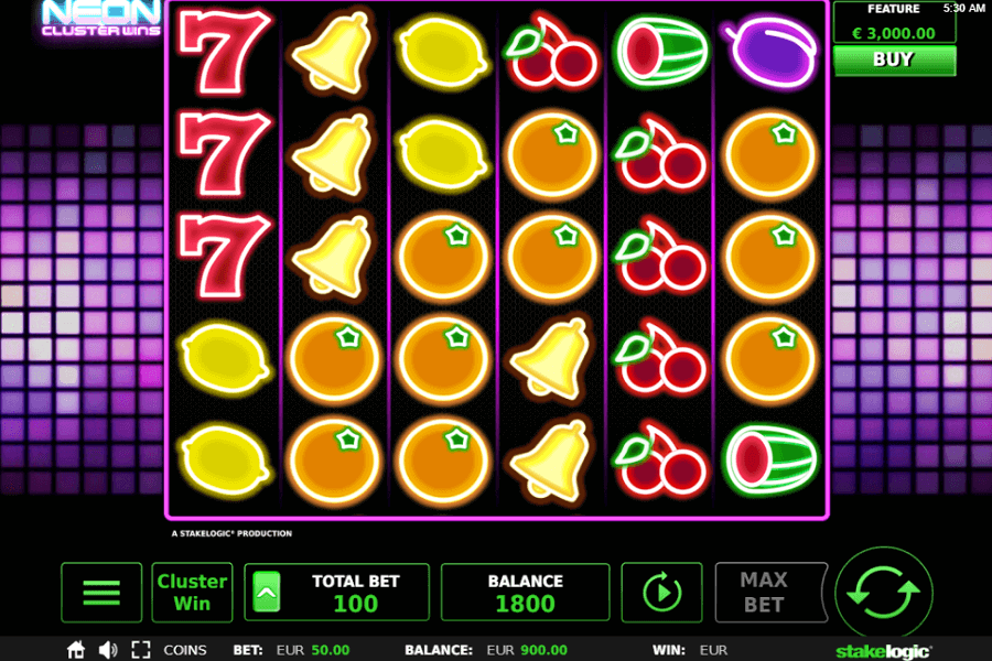 Spiele Neon Cluster Wins - Video Slots Online