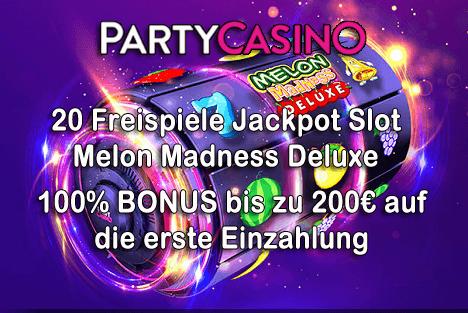 20 gratis Freispiele + 200€ Bonus