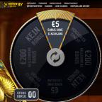 5€ ohne Einzahlung + 200€ Bonus am Energy Casino Glücksrad