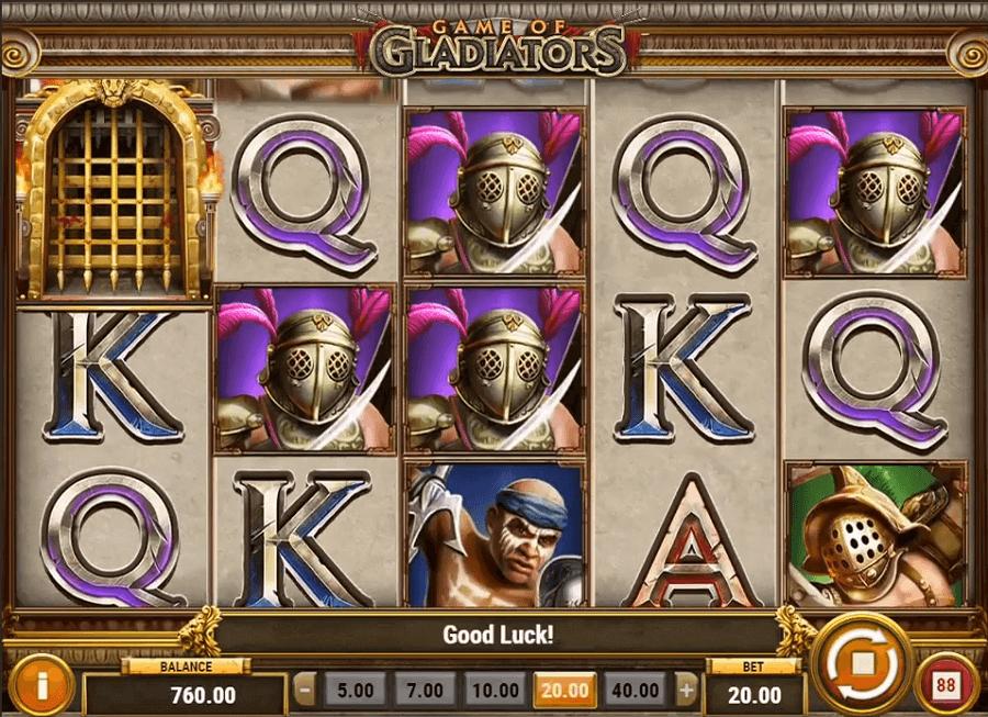 Game of Gladiators kostenlos spielen