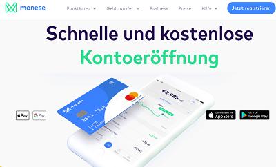 Monese Online Konto für Online Casinos