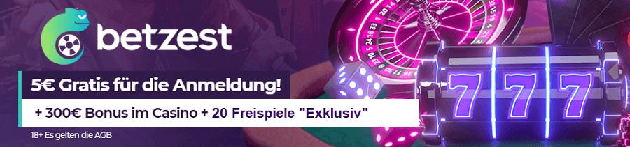 Book of Magic kostenlos im Betzest Casino mit 5 Euro Bonus spielen