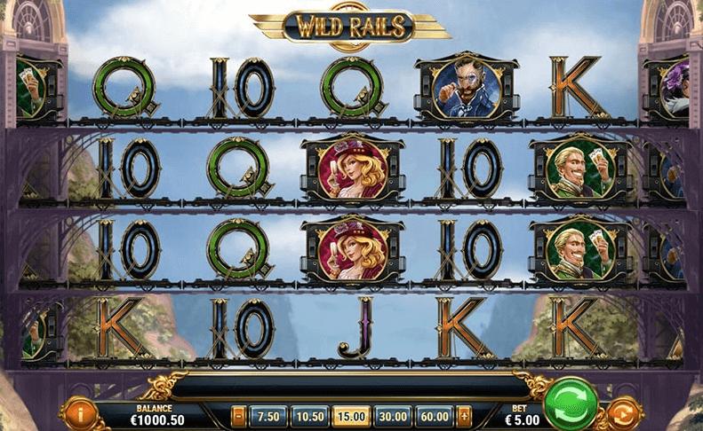 Wild Rails Play'n Go kostenlos spielen