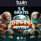 Twin Casino Bonus 5€ ohne Einzahlung