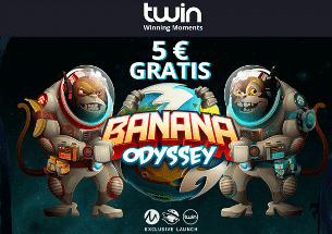 5 Euro Twin Casino Bonus Banana Odyssey