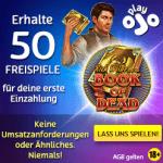 Book of Dead Freispiele ohne Bedingungen im PlayOjO Casino