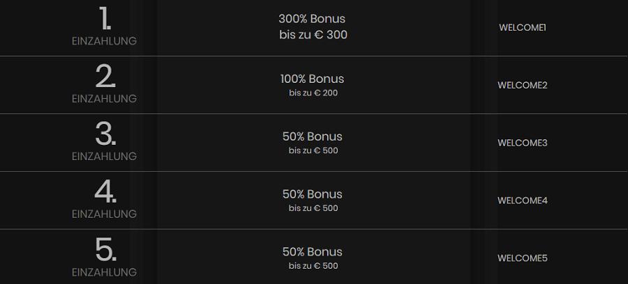 Casino Empire Bonus