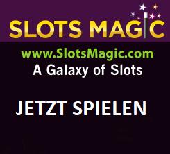 Slots Magic Registrieren und Bonus erhalten