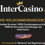 Intercasino 10 Freispiele ohne Einzahlung und Gamomat Slots